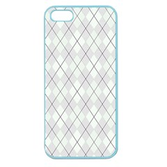 Plaid Pattern Apple Seamless Iphone 5 Case (color)