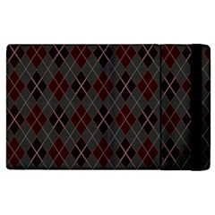 Plaid Pattern Apple Ipad 3/4 Flip Case by Valentinaart