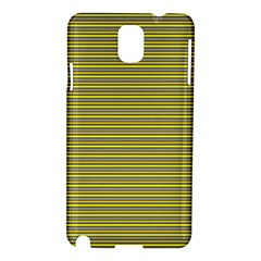 Lines Pattern Samsung Galaxy Note 3 N9005 Hardshell Case by Valentinaart