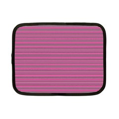 Lines Pattern Netbook Case (small)  by Valentinaart
