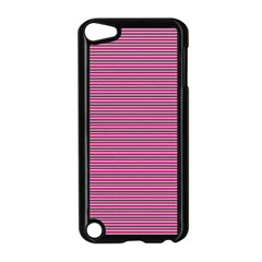 Lines Pattern Apple Ipod Touch 5 Case (black) by Valentinaart