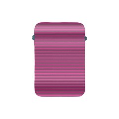 Lines Pattern Apple Ipad Mini Protective Soft Cases by Valentinaart
