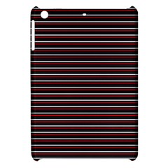 Lines Pattern Apple Ipad Mini Hardshell Case by Valentinaart