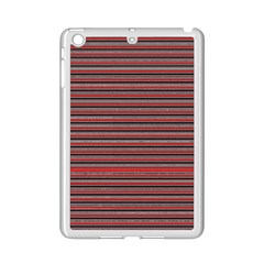 Lines Pattern Ipad Mini 2 Enamel Coated Cases by Valentinaart