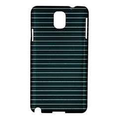 Lines Pattern Samsung Galaxy Note 3 N9005 Hardshell Case by Valentinaart