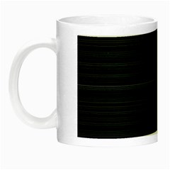 Lines Pattern Night Luminous Mugs by Valentinaart