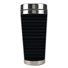 Lines Pattern Stainless Steel Travel Tumblers by Valentinaart