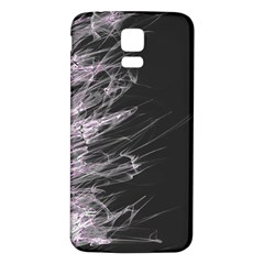 Fire Samsung Galaxy S5 Back Case (white) by Valentinaart