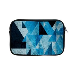 Plane And Solid Geometry Charming Plaid Triangle Blue Black Apple Macbook Pro 13  Zipper Case by Mariart