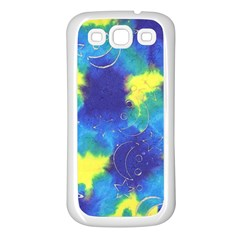Mulberry Paper Gift Moon Star Samsung Galaxy S3 Back Case (white) by Mariart