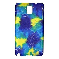 Mulberry Paper Gift Moon Star Samsung Galaxy Note 3 N9005 Hardshell Case by Mariart