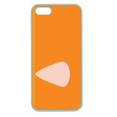 Screen Shot Circle Animations Orange White Line Color Apple Seamless iPhone 5 Case (Color) by Mariart