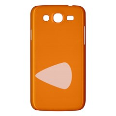 Screen Shot Circle Animations Orange White Line Color Samsung Galaxy Mega 5 8 I9152 Hardshell Case  by Mariart