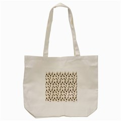 Autumn Leaves Motif Pattern Tote Bag (cream) by dflcprints