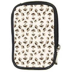 Autumn Leaves Motif Pattern Compact Camera Cases by dflcprints