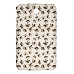 Autumn Leaves Motif Pattern Samsung Galaxy Tab 3 (7 ) P3200 Hardshell Case