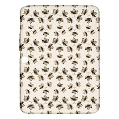 Autumn Leaves Motif Pattern Samsung Galaxy Tab 3 (10 1 ) P5200 Hardshell Case  by dflcprints