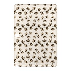 Autumn Leaves Motif Pattern Samsung Galaxy Tab Pro 10 1 Hardshell Case by dflcprints