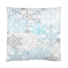 Sign Flower Floral Transparent Standard Cushion Case (one Side) by Mariart