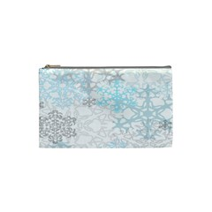 Sign Flower Floral Transparent Cosmetic Bag (small)  by Mariart