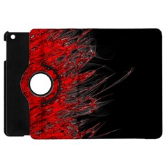 Fire Apple Ipad Mini Flip 360 Case by Valentinaart