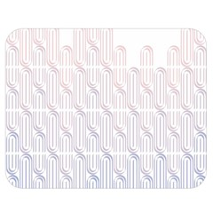 Seamless Horizontal Modern Stylish Repeating Geometric Shapes Rose Quartz Double Sided Flano Blanket (medium)  by Mariart
