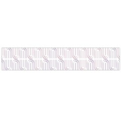 Seamless Horizontal Modern Stylish Repeating Geometric Shapes Rose Quartz Flano Scarf (large) by Mariart