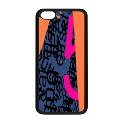 Recursive Reality Number Apple Iphone 5c Seamless Case (black) by Mariart