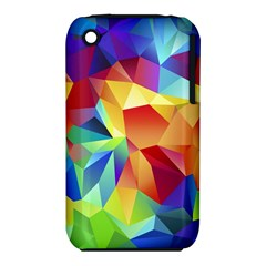 Triangles Space Rainbow Color Iphone 3s/3gs by Mariart