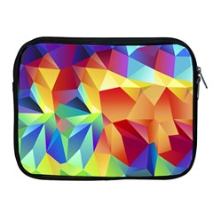 Triangles Space Rainbow Color Apple Ipad 2/3/4 Zipper Cases by Mariart