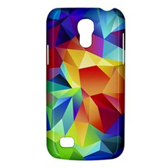 Triangles Space Rainbow Color Galaxy S4 Mini by Mariart