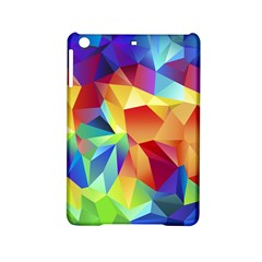 Triangles Space Rainbow Color Ipad Mini 2 Hardshell Cases by Mariart