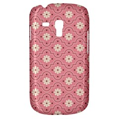 Sunflower Star White Pink Chevron Wave Polka Galaxy S3 Mini by Mariart