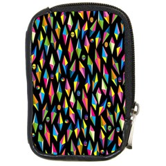 Skulls Bone Face Mask Triangle Rainbow Color Compact Camera Cases by Mariart