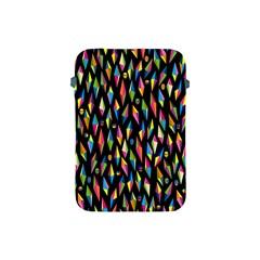 Skulls Bone Face Mask Triangle Rainbow Color Apple Ipad Mini Protective Soft Cases by Mariart