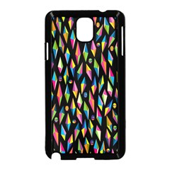 Skulls Bone Face Mask Triangle Rainbow Color Samsung Galaxy Note 3 Neo Hardshell Case (black) by Mariart