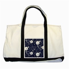World Clocks Two Tone Tote Bag by Mariart