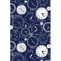 World Clocks 5 5  X 8 5  Notebooks by Mariart