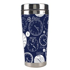 World Clocks Stainless Steel Travel Tumblers by Mariart