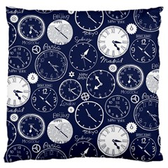 World Clocks Standard Flano Cushion Case (two Sides) by Mariart