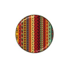 Tribal Grace Colorful Hat Clip Ball Marker (10 Pack) by Mariart