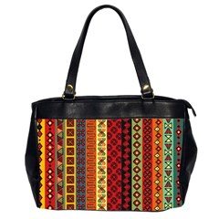 Tribal Grace Colorful Office Handbags (2 Sides)  by Mariart