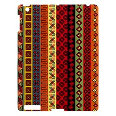 Tribal Grace Colorful Apple Ipad 3/4 Hardshell Case by Mariart