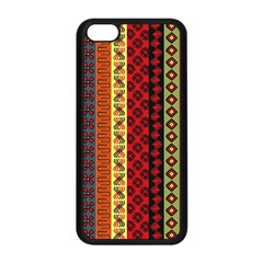 Tribal Grace Colorful Apple Iphone 5c Seamless Case (black) by Mariart