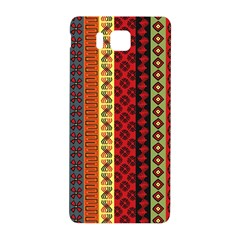 Tribal Grace Colorful Samsung Galaxy Alpha Hardshell Back Case by Mariart