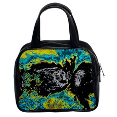 Abstraction Classic Handbags (2 Sides) by Valentinaart