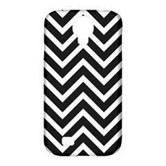 Zigzag Pattern Samsung Galaxy S4 Classic Hardshell Case (pc+silicone) by Valentinaart