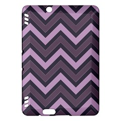 Zigzag Pattern Kindle Fire Hdx Hardshell Case by Valentinaart