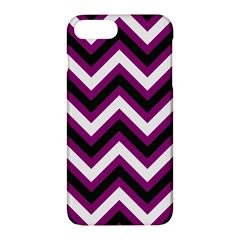 Zigzag Pattern Apple Iphone 7 Plus Hardshell Case by Valentinaart