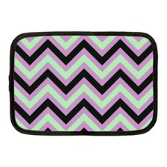 Zigzag Pattern Netbook Case (medium)  by Valentinaart